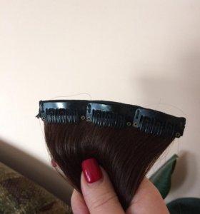 Волос натуральный на заколке