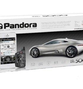 Автосигнализация с автозапуском Pandora