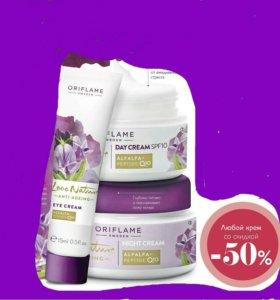 Антивозрастные крема для всех типов кожи 30+