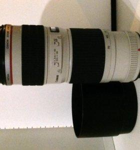 Объектив Canon EF70-200 f/4L USM