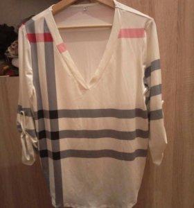 Блузка, свободная кофта
