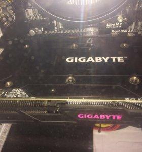 Продам видеокарту GTX 1060 6gb Gigabyte G1 Gaming