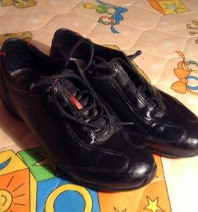 Ботинки Ecco кожа на мальчика