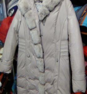 куртка пальто, эко-кожа