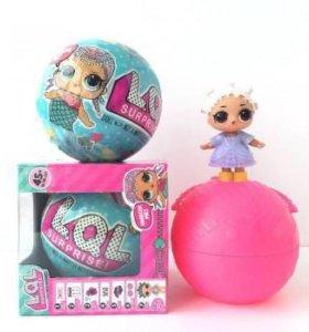 Яйцо кукла ЛОЛ