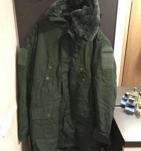 Демисезонная куртка офисная военная