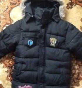 Зимняя куртка р. 134-140