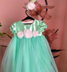 Платье для девочки 3-4 годика новое