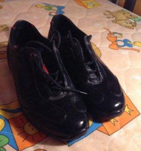 Обувь на мальчика Экко кожа