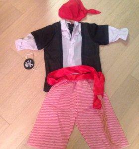 Корновальный костюм пирата