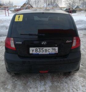 Hyundai Getz 1.4л 97л.с.