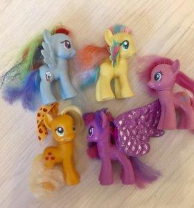 Коллекция игрушек My little pony
