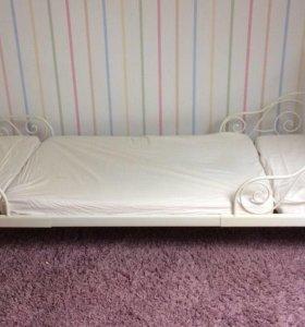 Детская раздвижная кровать Икеа