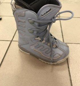 Ботинки сноубордические K2