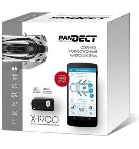 Сигнализация Pandect X-1900 с 3G и АВТОЗАПУСКОМ