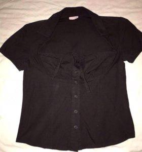 Блуза с декольте Италия