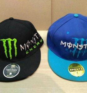 2 кепки Moster Energy