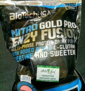 Протеин BIOTECH NITRO GOLD PRO ENZY FUZION