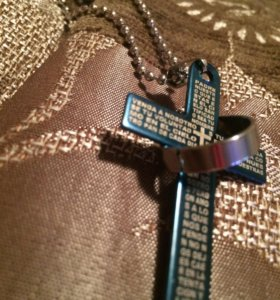 Крест из нержавейки