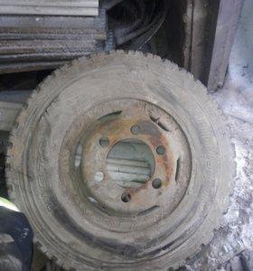 Колесо от японского грузовика 7.50 r16