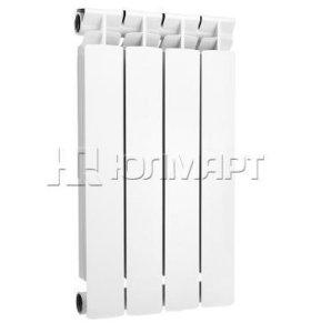 Радиатор алюминиевый Alecord, 4 секции, 500/70
