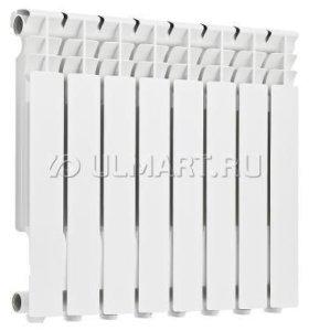 Радиатор алюминиевый Rommer Optima, 8 секций