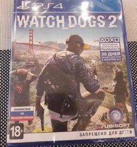 Игра Watch Dogs 2, PS4, новая