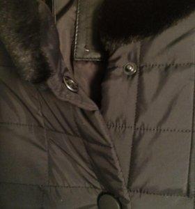 Куртка чёрная , новая
