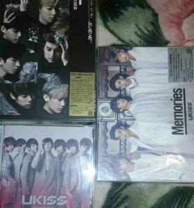 U-kiss cd+dvd японские альбомы