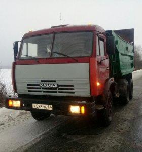 Услуги А/М Камаз вывоз мусора и сгега и.т.д