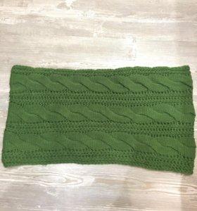 Красивый шарф-снуд