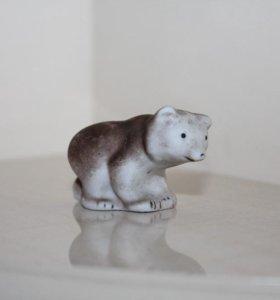 Медвежонок бисквит, фарфор СССР
