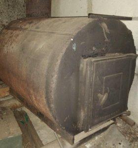 Печь (Буржуйка) для гаража или мастерской