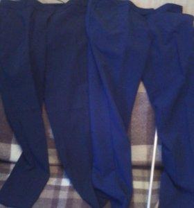 Брюки 2 пары черные и темно-синие oodji оджи