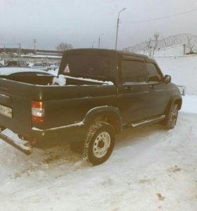 Малые грузоперевозки на УАЗ пикап