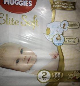 Подгузники Huggies Elite Soft 2