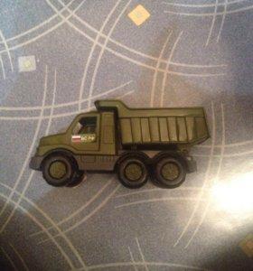 Машинка детская , военная