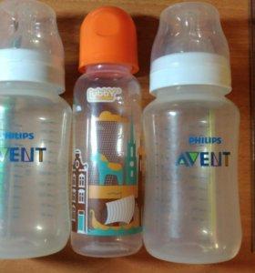 Бутылочки Авент и Лубби