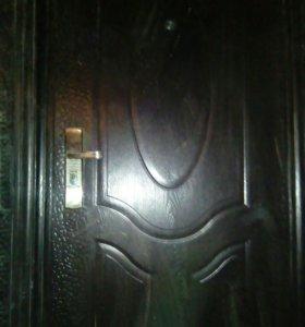 Дверь метал. входная