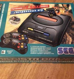 Sega НОВАЯ +9 встроенных игр!