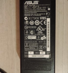 Зарядное устройство Asus 19V 3.42A ADP-65JH BB