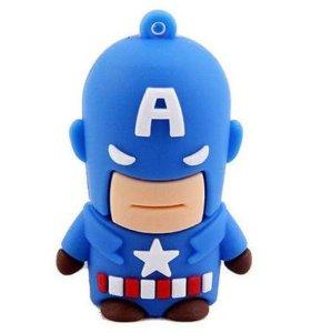 Флешка Капитан Америка 8 GB