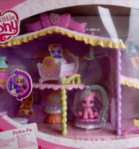 Hasbro MLP Дом для Пони со звуком и светом
