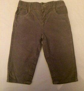 Детские вельветовые штаны
