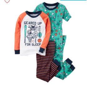Оригинальная пижама картерс для мальчика 4т