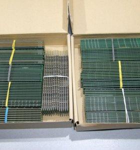 Оперативная память DDR1 DDR2 DDR3 Dimm Sodimm