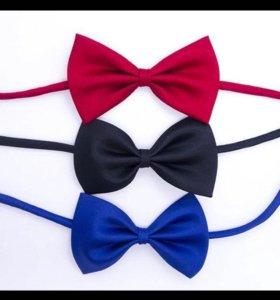 Новые галстуки - бабочки для мальчика