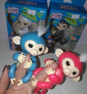 Интерактивные обезьянки.