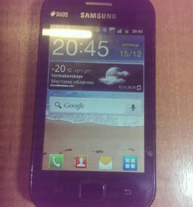 Samsung Galaxy Ace Duos GT_S6802