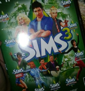Диск The sims3